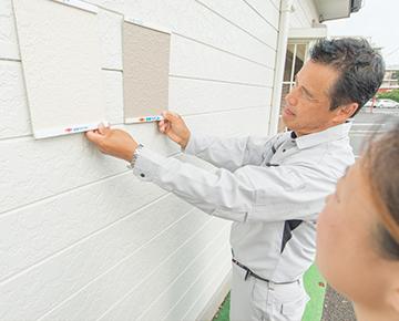 施工仕様を厳守し、塗料本来の性能を発揮。