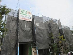 袖ヶ浦市 S様邸 塗装工事が始まりました。