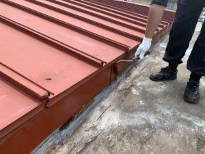 習志野市 工場屋根防水工事