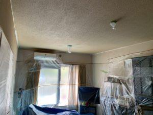 稲毛区 T様邸 室内天井塗装工事
