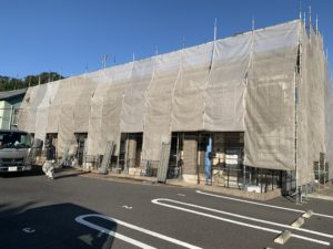 香取市 Gアパート 外壁塗装工事