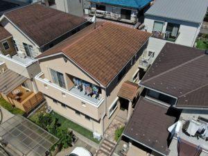 花見川区 N様邸外壁屋根塗装工事